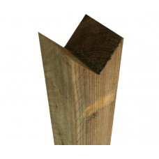 Treated Birds Mouth Fence Post 100mm x 100mm x 900mm