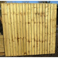Heavy Duty Closeboard Panel 6' x 6'