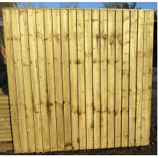 Heavy Duty Closeboard Panel 6' x 5'6""