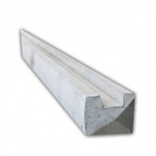 100mm x 100mm Slotted End Concrete Fence Posts
