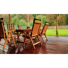 Hardwood Decking Yellow Balau Reversible